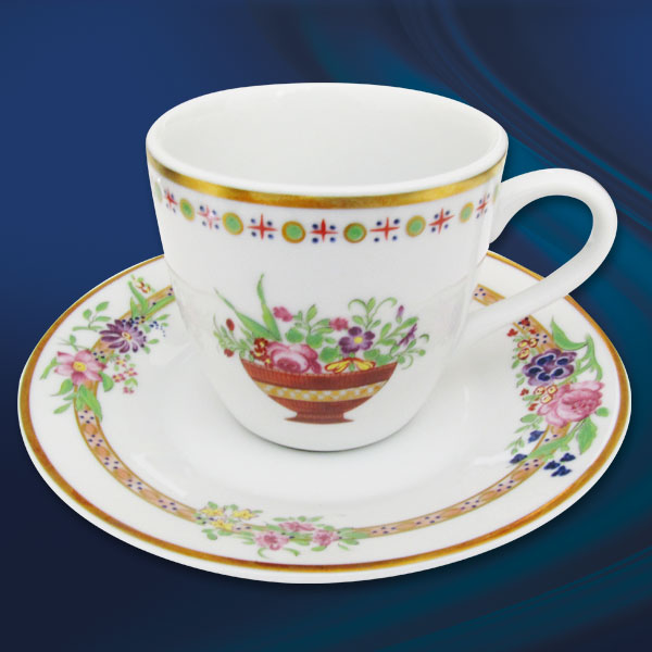 Chávena Café R. + Pires Rose Garden
